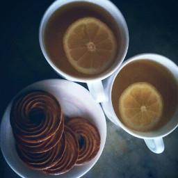 playwithyourfood goodmorning lemon tea love