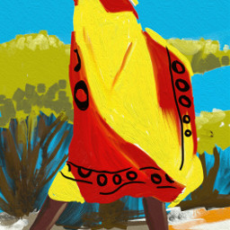 drawing ootd painting africa fingerpainting