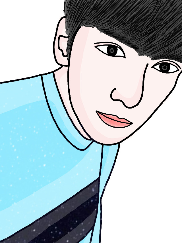 Boy Ji Chang Wook 👤😆😍 #skecth #art #drawing #outline #face #madewithpicsart #freetoedit #people #ilustration #indonesia