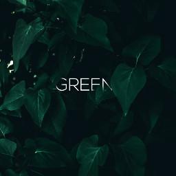 text green