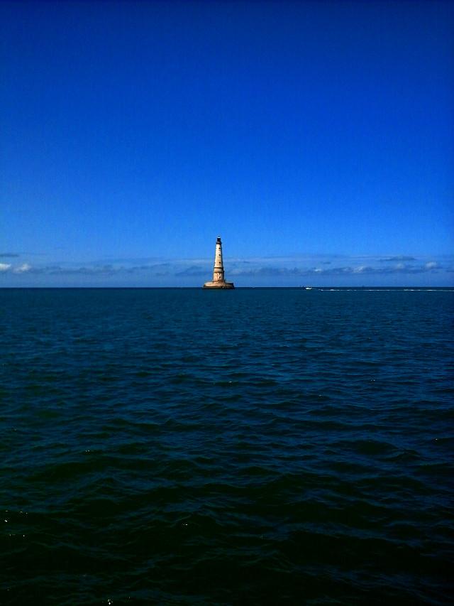 #photography  #lighthouse #DarkSea  # BlueSky #travel #France #FreeToEdit