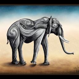 wdpzooanimals drawing art elephant