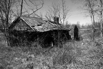 house abandoned decay naturewins blackandwhite