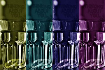 ftecupofwater popart colorful emotions love
