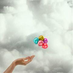 minimal minimalism hand edit balloon freetoedit