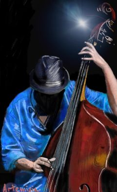 wdpjazz drawing draw music jazz