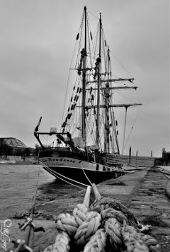 laseine paris parisbylou blackandwhite boat