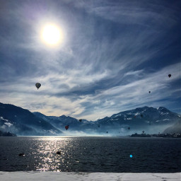wppvacation zellamsee blue sky amazing freetoedit