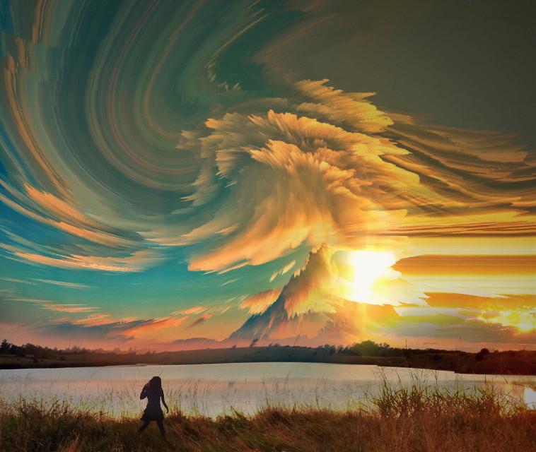 Vibrations 📣 #createdoniphone #fantasy #surreal