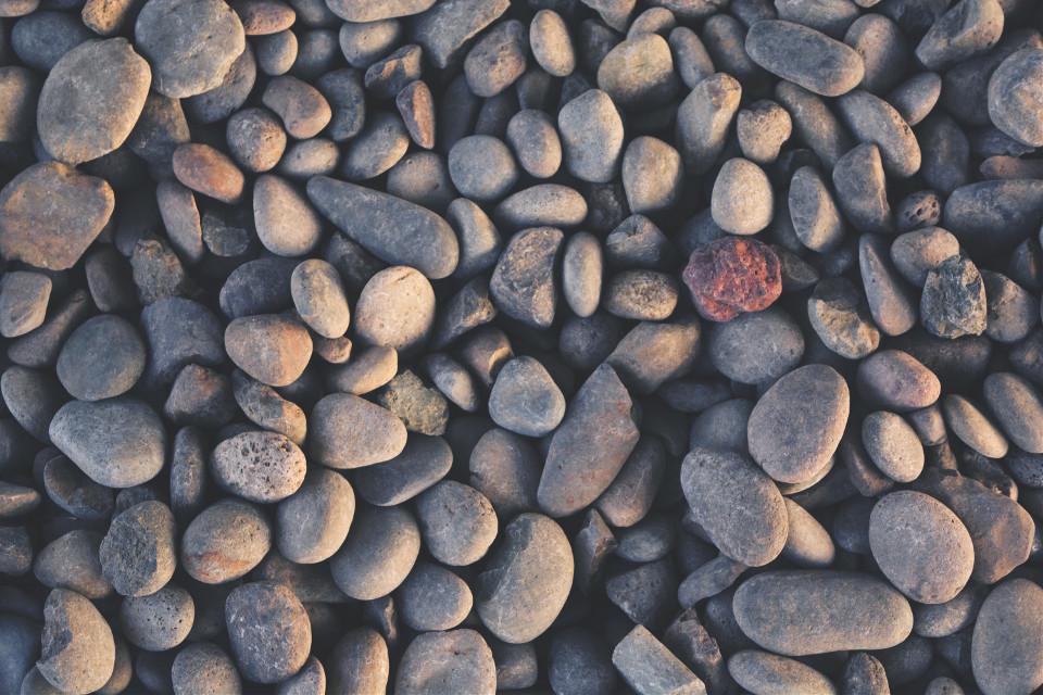 Courtesy of Unsplash (Public Domain) ~ #FreeToEdit #texture #stone #stones #pattern #topview